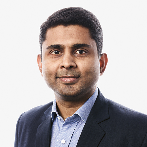 Chief Operating Officer Manish Patnaik